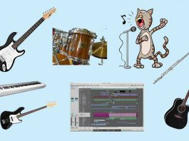 Music Instruments I Play Header Web